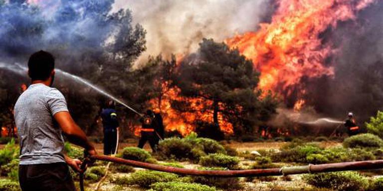 Forse kritiek op Griekse regering na inferno