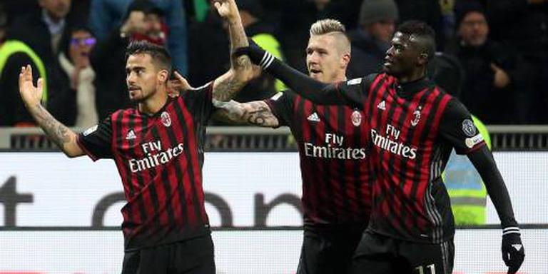 Derby Milaan onbeslist na laat doelpunt Inter