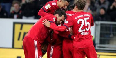 Bayern begint goed aan inhaalrace