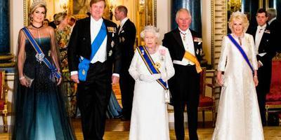 Koningin Máxima draagt Stuart-diamant