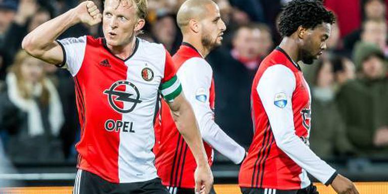 Feyenoord blijft koploper na zege op PEC
