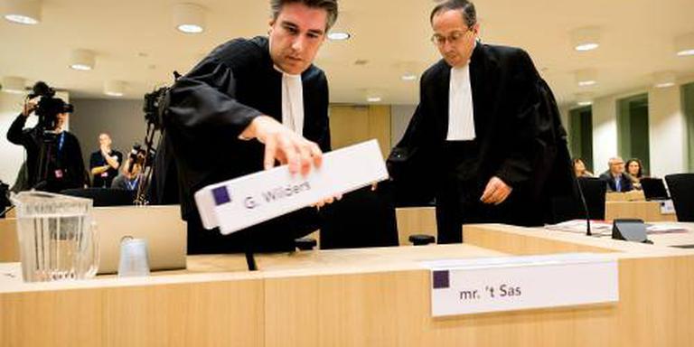Wilders-proces begonnen met verklaring