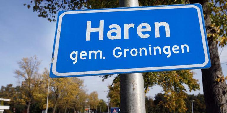 Spookbeeld voor veel mensen in Haren, hun woonplaats als onderdeel van de gemeente Groningen. Fotomontage: DvhN/Rob Hesseling