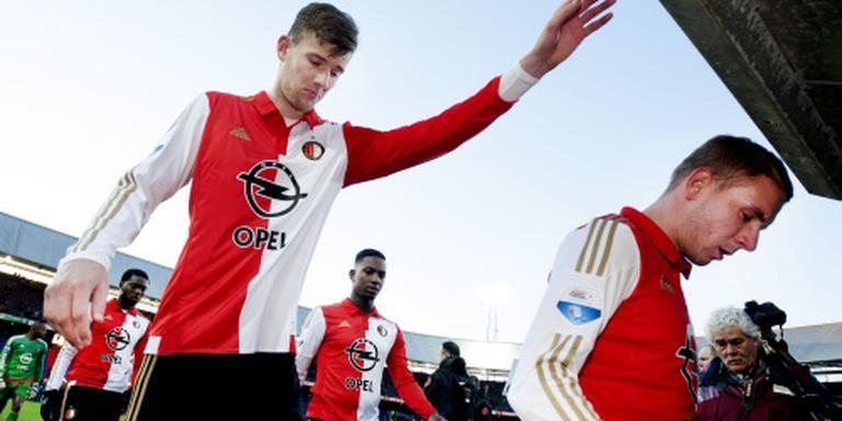 Feyenoord met vier wijzigingen tegen Roda JC