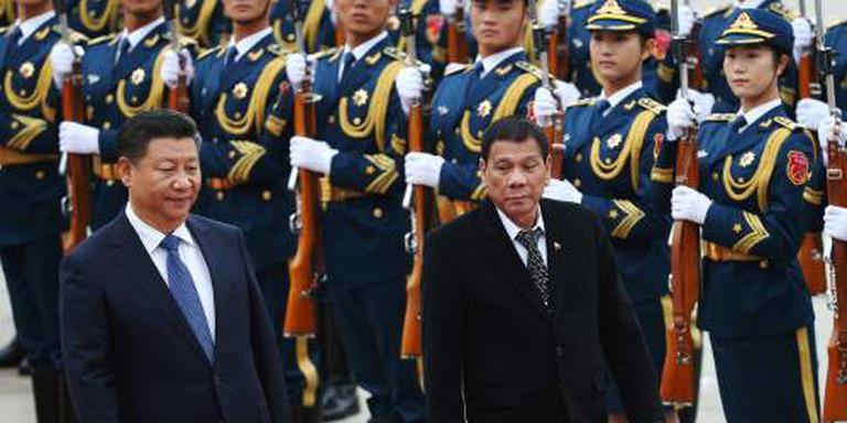 China en Filipijnen vallen elkaar in de armen