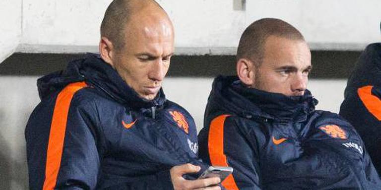 Bayern München zonder Robben naar Rusland