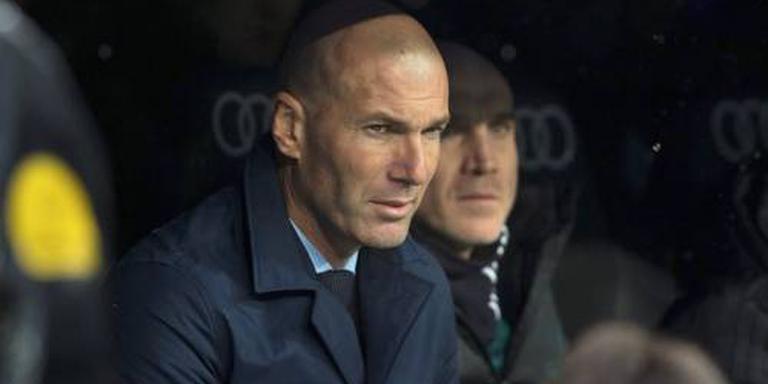 Zidane: dit verdienen we niet