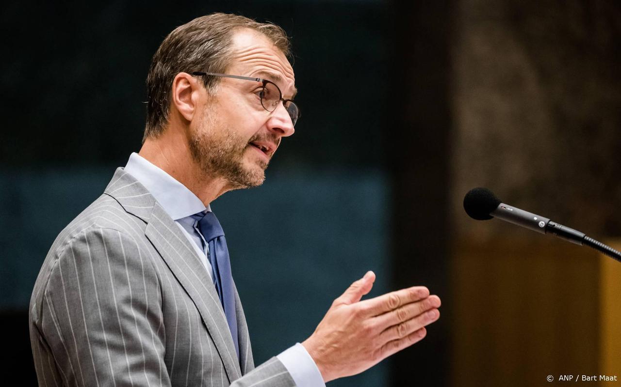 Minister Eric Wiebes van Economische Zaken en Klimaat.