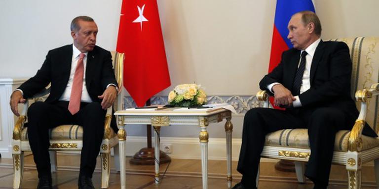 Turkije en Rusland samen tegen terrorisme