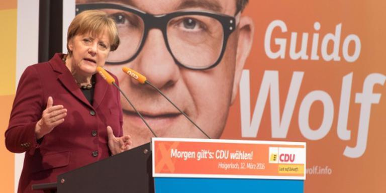 Miljoenen Duitsers stemmen over beleid Merkel
