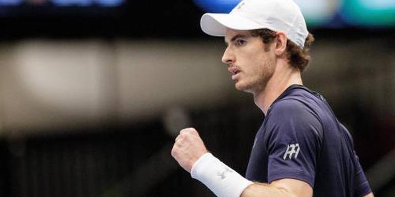 Vrije doortocht naar finale voor Murray
