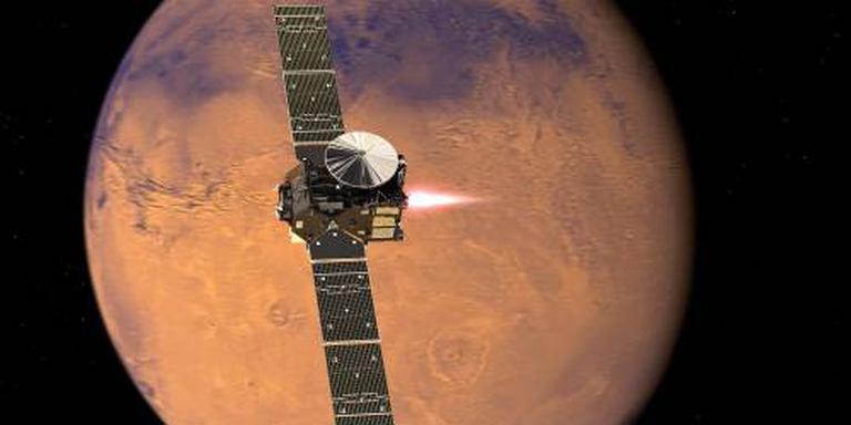Europa komt aan bij Mars