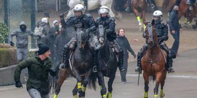 Rust teruggekeerd na roerige mars in Brussel