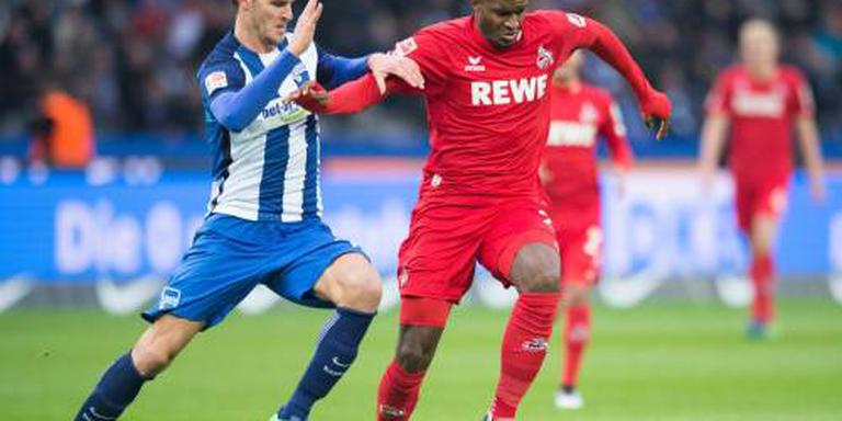 Hertha BSC bezorgt 1.FC Köln eerste nederlaag