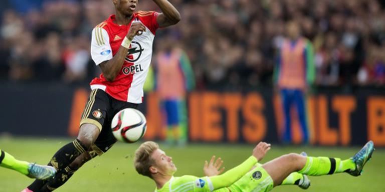 Feyenoorder Kongolo weer in training