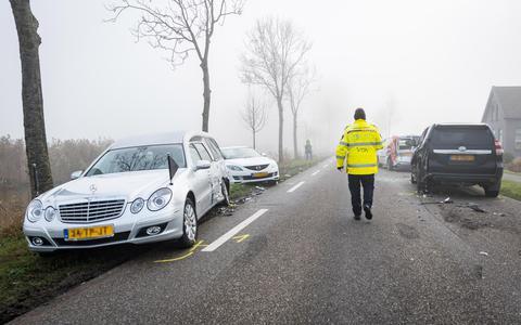 Uitvaart begint later na ongeluk bij Grijpskerk: 'Die vrachtwagen kwam recht op ons af'
