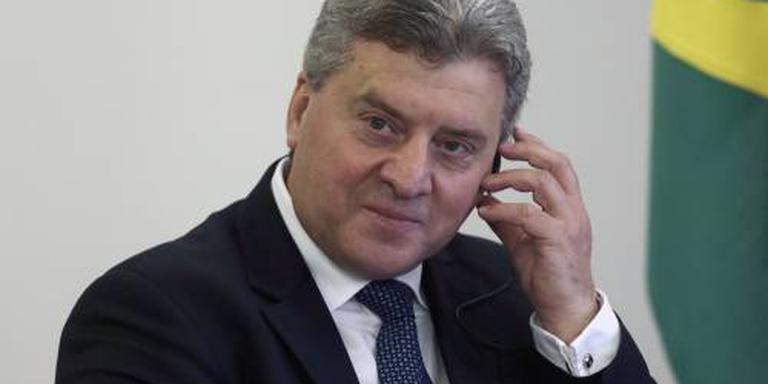 President Macedonië tegen naamswijziging