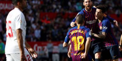 Barça wint dankzij vijftigste hattrick Messi