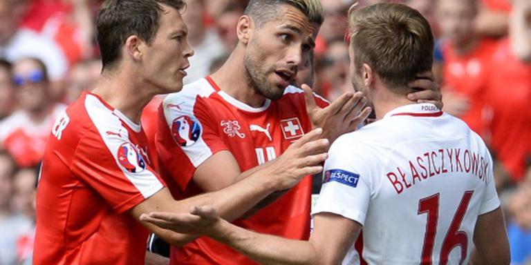 Strafschoppen bij Zwitserland - Polen op EK