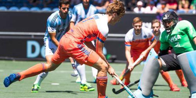 Hockeyers pakken brons in Breda