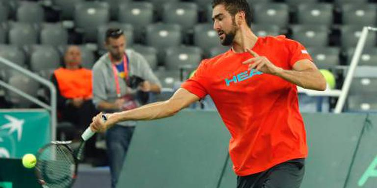 Cilic opent finale Davis Cup tegen Delbonis