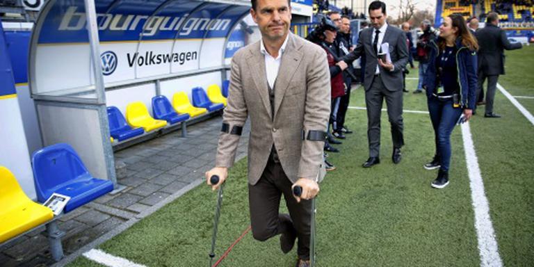 Ajax met drie verdedigers tegen FC Utrecht