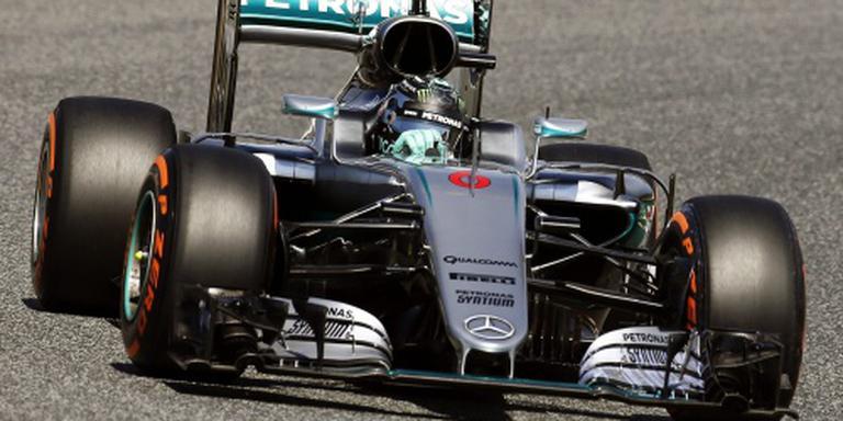 Hamilton en Rosberg crashen en vallen uit