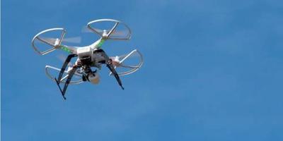 Een drone is bij een test met medicijnbezorging op Schiermonnikoog neergestort. Foto: ANP