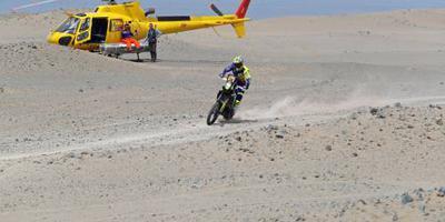 Franse motorcoureur Metge wint in Dakar