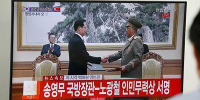 Noord- en Zuid-Korea zetten stap richting vrede