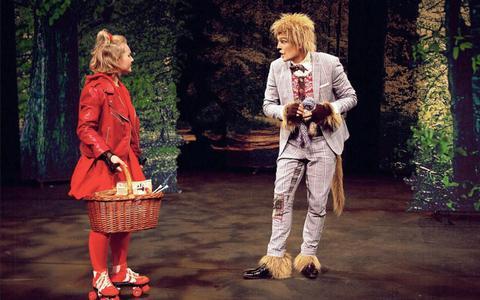 Recensie Roodkapje: De wolf als gezellige breikous ★★★☆☆