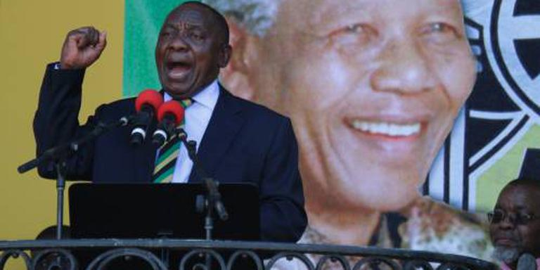 'Ramaphosa nieuwe president Zuid-Afrika'