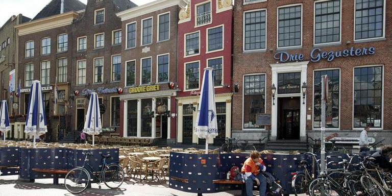 Café De Drie Gezusters in Groningen op archiefbeeld. FOTO ARCHIEF DVHN