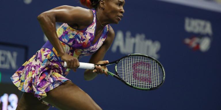 Ook Venus Williams door in New York