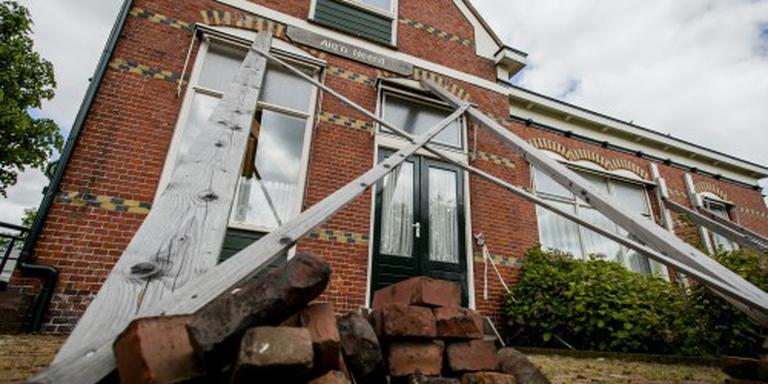 Prijs woning aardbevingsgebied blijft achter