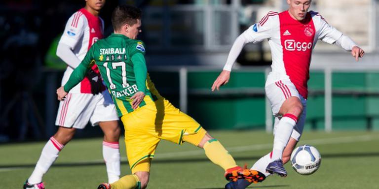 Moeizame zege Ajax in Den Haag