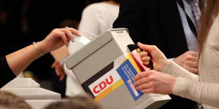Verkiezingsstrijd CDU tussen twee kandidaten