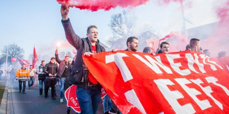 Supporters FC Twente onthutst