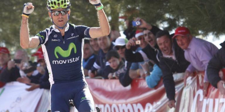 Valverde moet winst Tirreno in ploeg houden