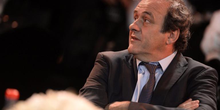 Platini mijdt stadions bij EK voetbal