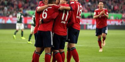 Bayern ondanks rood Robben langs Wolfsburg