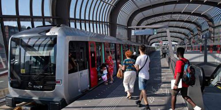 Noord-Zuidlijn trekt 72.000 reizigers per dag
