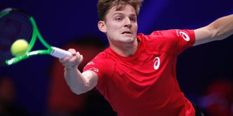 Goffin trekt stand in finale Daviscup gelijk