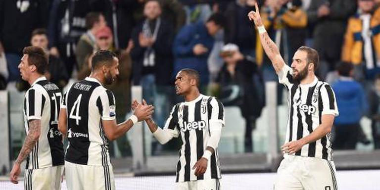 Juventus loopt uit op Napoli