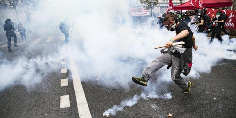 Weer betogingen tegen arbeidswet in Frankrijk