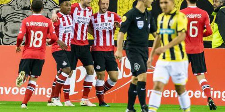 PSV in Arnhem te sterk voor Vitesse