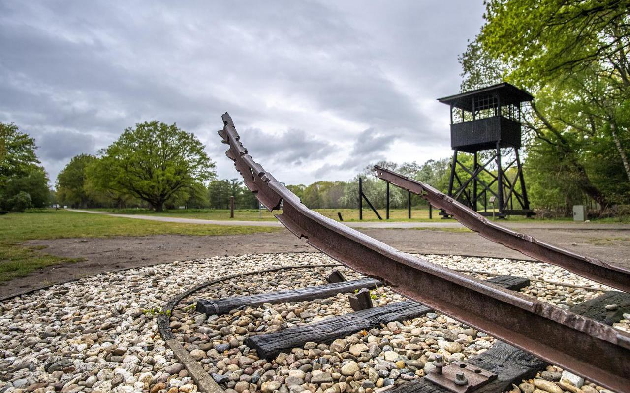 Het Nationaal Monument in Westerbork.