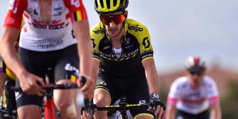 Viviani verslaat Sagan en Gaviria in Tirreno
