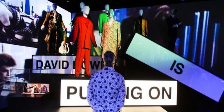 Groninger Museum geschokt door dood Bowie