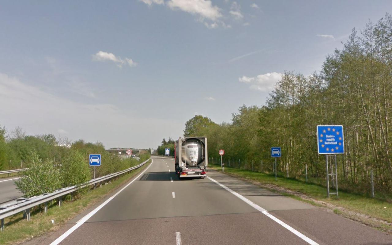 Grensovergang bij Zwartemeer